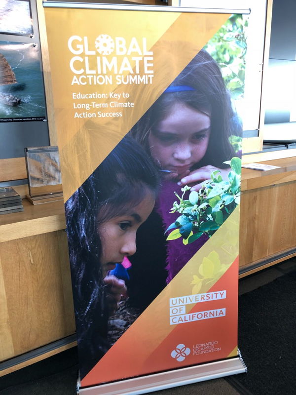 Governor's Global Action Climate Summit